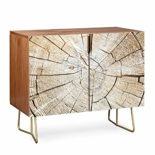 Lisa Wood Cut 2 Door Accent Cabinet By East Urban Home