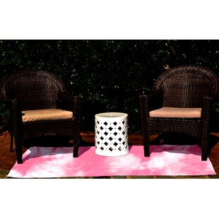 Golden Beach Pink Indoor/Outdoor Area Rug