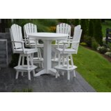Nettie 5 Piece Bar Height Dining Set