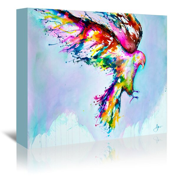 East Urban Home Faust Graphic Art On Gallery Wrapped Canvas Wayfair