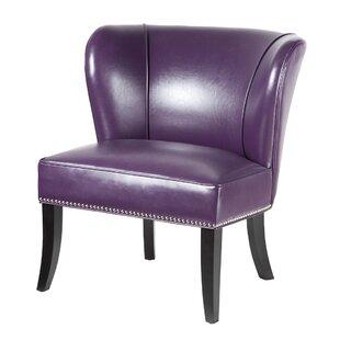Awe Inspiring Leather Purple Chair Wayfair Beatyapartments Chair Design Images Beatyapartmentscom