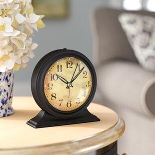 Merveilleux Antique Look Metal Alarm Clock