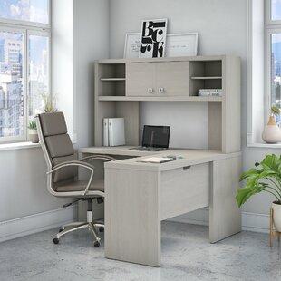 Kathy Ireland Office by Bush Echo 2 Piece L-Shaped Desk Set