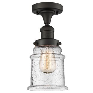 Arley 1-Light Semi Flush Mount by Williston Forge