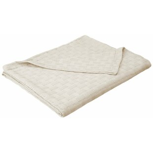 Cian Basket Weave Cotton Blanket