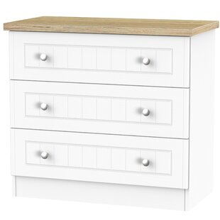 Rosio 3 Drawer Chest By Brambly Cottage