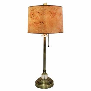 Binion Wood Texture Hardback 28 Table Lamp