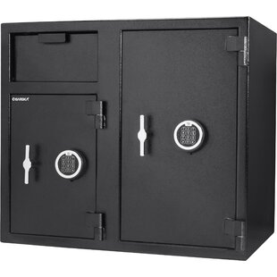 Cubic Depository Safe with Electronic Lock by