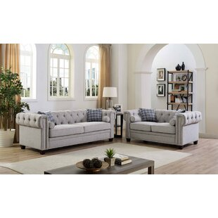 Price comparison Connelly 2 Piece Living Room Set by Alcott Hill Reviews (2019) & Buyer's Guide
