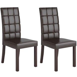 dCOR design Parsons Chair (Set of 2)
