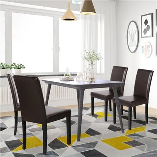 Espiye Upholstered Dining Chair Set of 4 by Ebern Designs