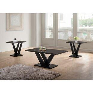 Carla 3 Piece Coffee Table Set