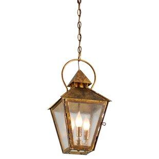 Canora Grey Ilbert 3-Light Outdoor Hanging Lantern
