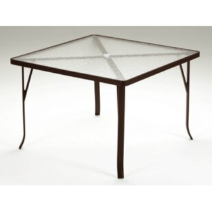 Valora Plastic/Resin Dining Table by Trop..