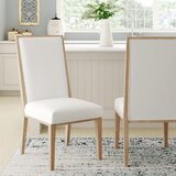 Monica Upholstered Dining Chair (Set of 2) by Ophelia & Co.