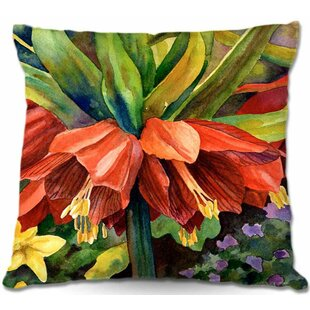 Fritillaria Throw Pillow