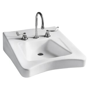 Looking for Wheelchair Vitreous China 20 Wall Mount Bathroom Sink ByMansfield Plumbing Products