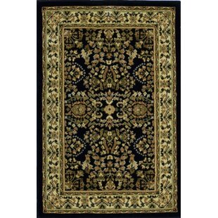Affordable Price Gloucester Black Area Rug By Threadbind