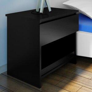 2-tlg. Nachttisch mit Schublade von Home Etc