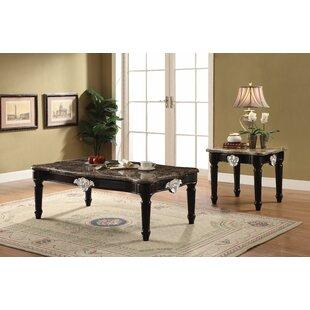 Mcclellan 2 Piece Coffee Table Set