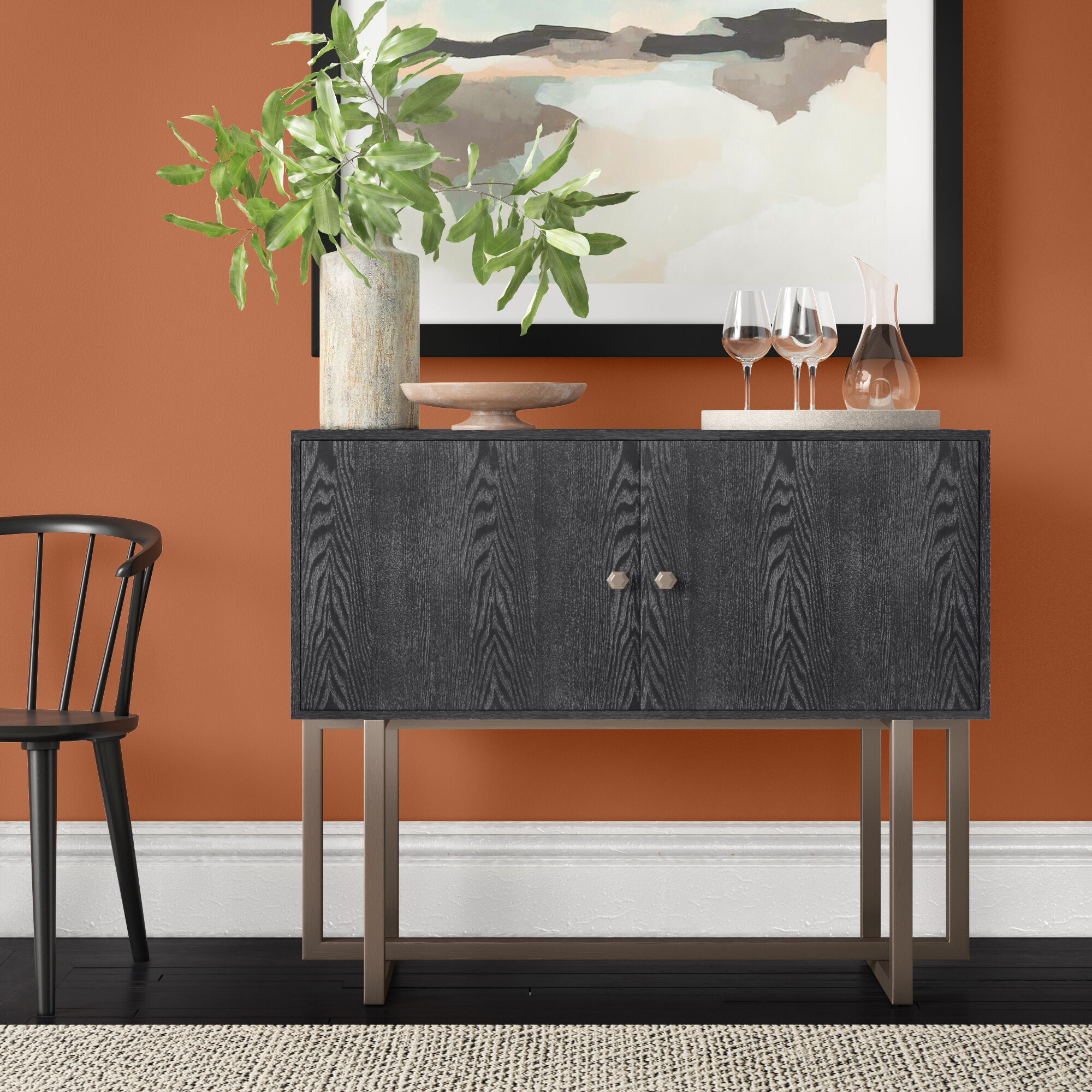 Picture of: Barlet 43 3 Wide Buffet Table Reviews Joss Main