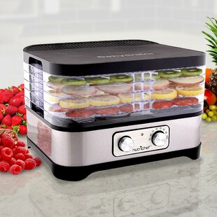 5 Tray Compact Food Dehydrator by SereneLife Fresh