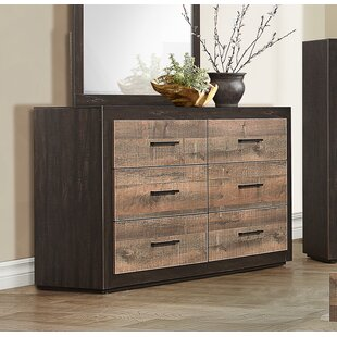 Slade 6 Drawer Double Dresser