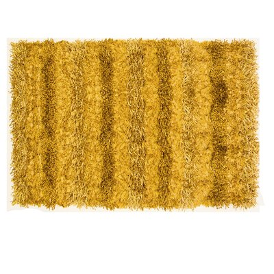 Hand Woven Matador Gold Leather Rug Wayfair