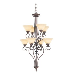Lewisboro 8-Light Shaded Chandelier by Darby Home Co