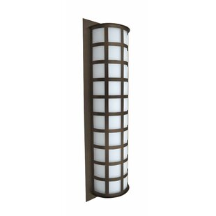Compare & Buy Caufield 3-Light Brown Outdoor Flush Mount By Latitude Run