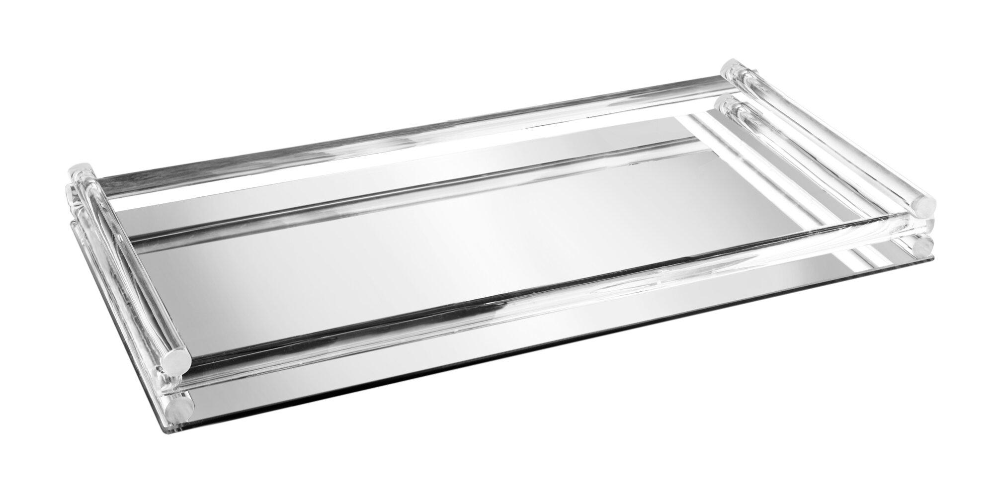Mercer41 Mirror Vanity Tray Reviews Wayfair