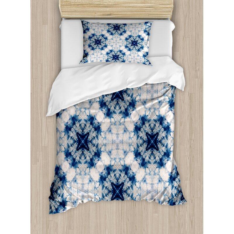 Indian Duvet Doona Cover Hippie Tie Dye Spiral Mandala Bedding Throw Bed Set