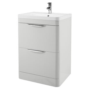 Cammy 59.6cm Free-Standing Vanity Unit Base By Belfry Bathroom