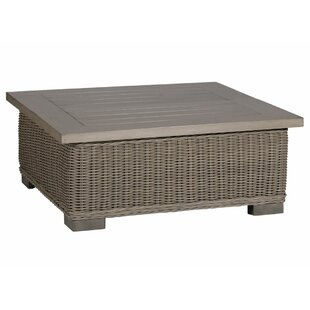 Rustic Metal Coffee Table by Summer Classics