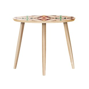 Upper Vobster End Table by Bungalow Rose