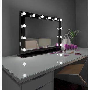 Best Reviews Tarek Vanity Makeup/Shaving Mirror By Everly Quinn