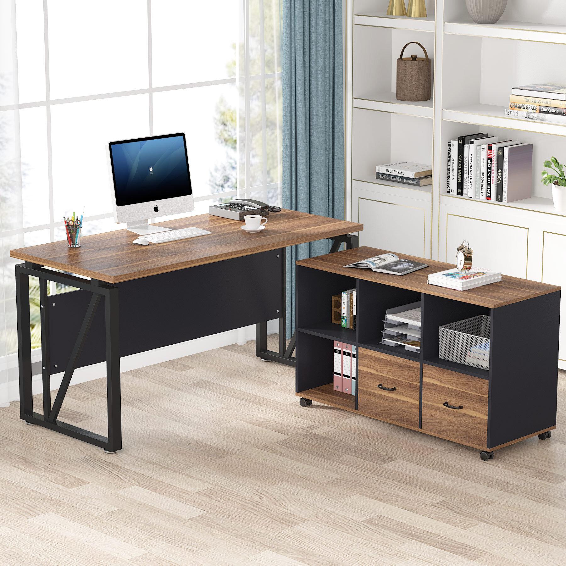Bookcase Credenza Desks You Ll Love In 2021 Wayfair