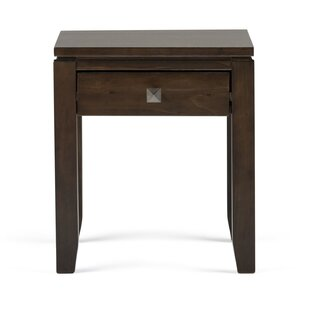 Price Check Cosmopolitan End Table with Storage By Simpli Home