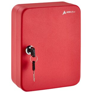 Secure 30 Key Cabinet with Key Lock by AdirOffice