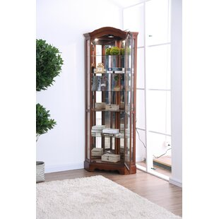 Astoria Grand Stamp Curio Cabinet