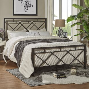 Laurel Foundry Modern Farmhouse Ingersoll Metal Panel Bed