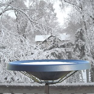 Birds Choice Deck Mount Heated Birdbath