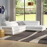 Hugo Leather Sectional by Wade Logan®