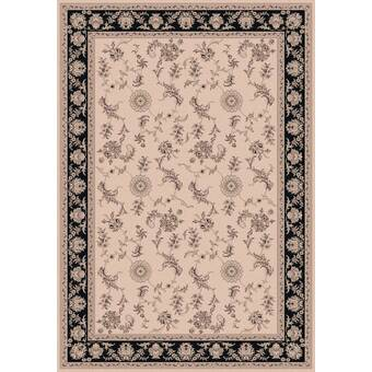 Astoria Grand Atterbury Persian Navy Brown Area Rug Wayfair