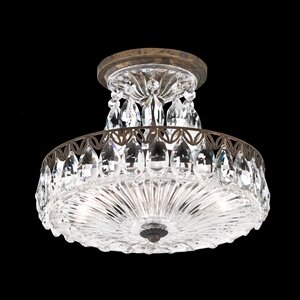 Schonbek Fontana Luce 2-Light Semi Flush Mount