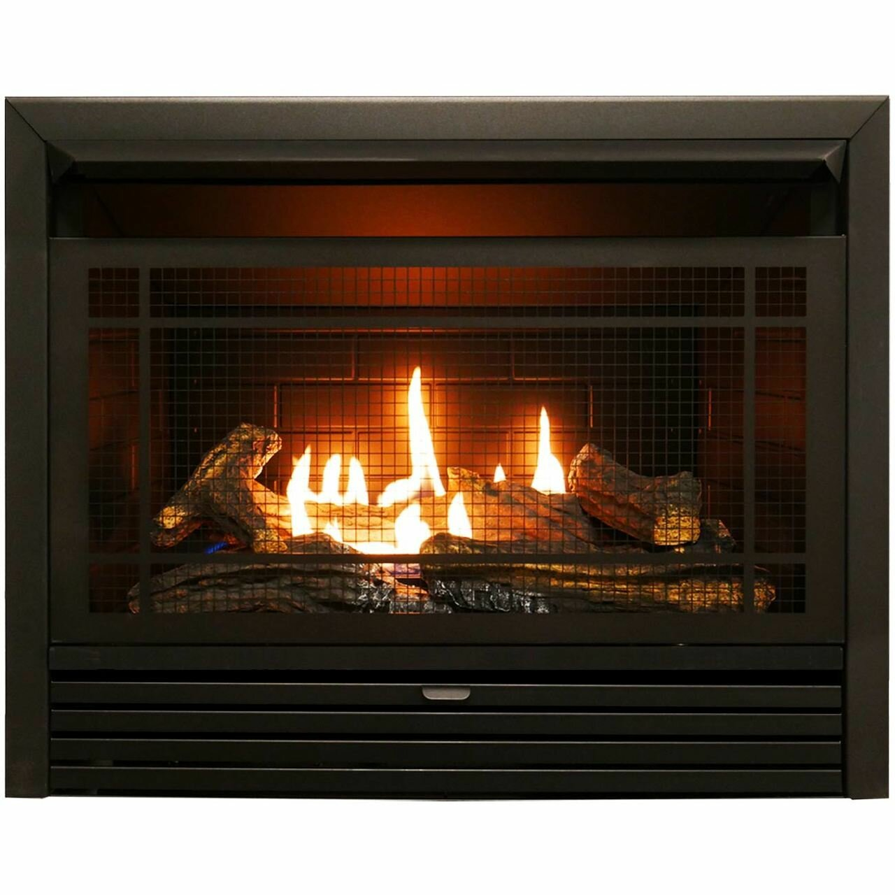 Charlton home hardwick vent free recessed natural gas propane fireplace insert reviews wayfair
