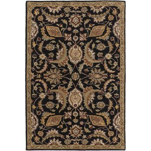 Philips Black Area Rug By Astoria Grand