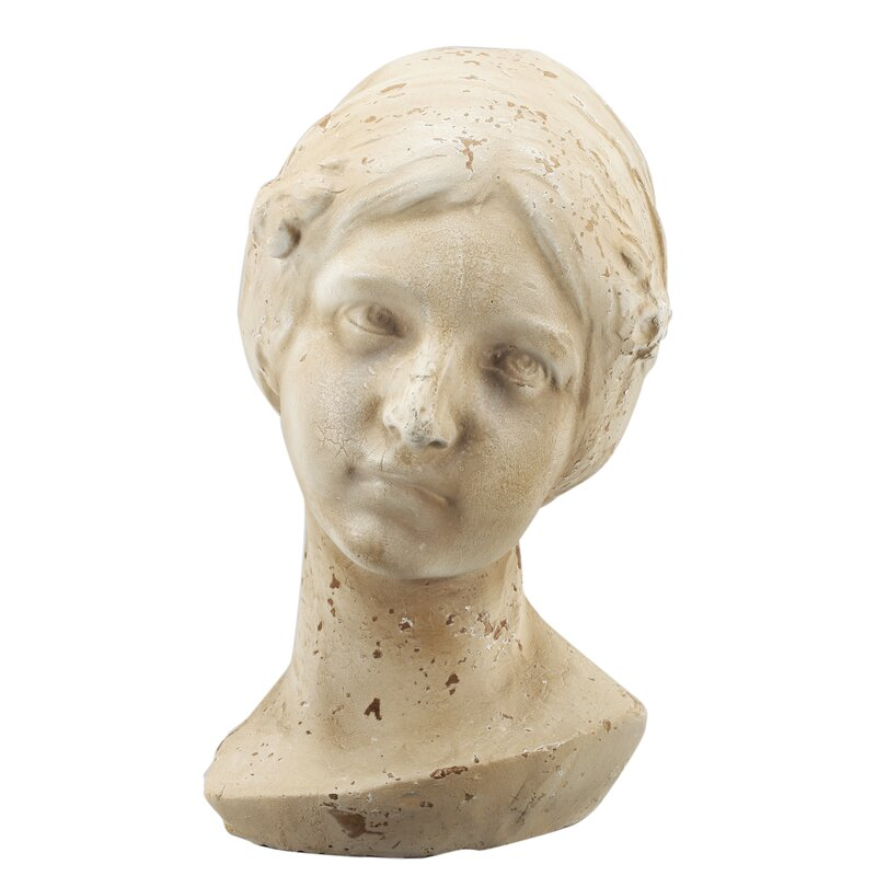 Hand crafted Bust of Hermia Figurine - Shop Drew's Honeymoon House {Guest Bedrooms} #hermia #PropertyBrothers #sculpture