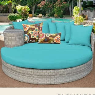 Rosecliff Heights Ansonia Daybed with Cushions