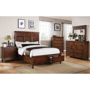 nashoba platform configurable bedroom set - Wood Bedroom Sets